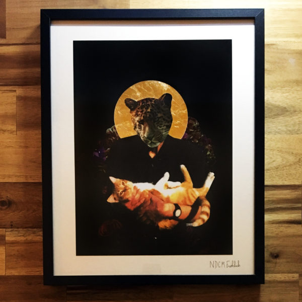 Cat Daddy mit 24 Karat Gold
