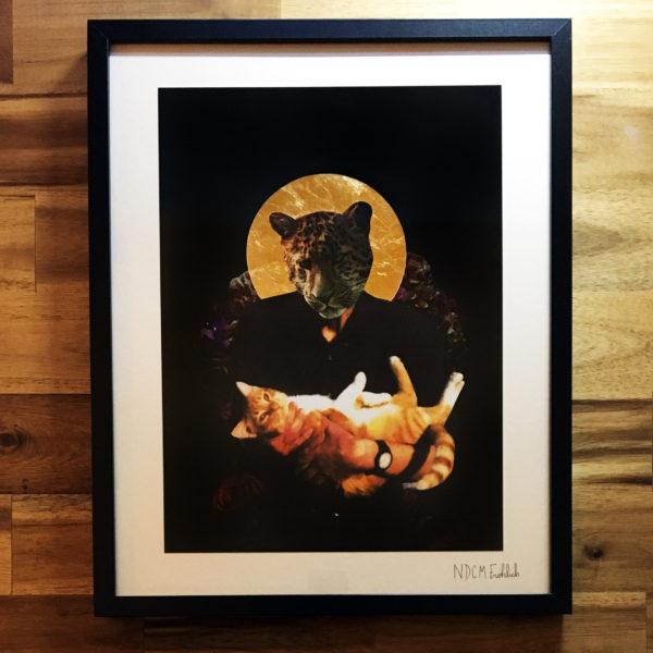 Cat Daddy mit 24 Karat Gold
