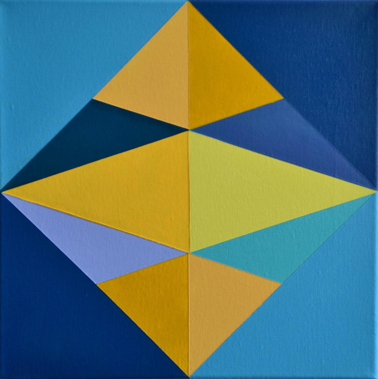 Blue Star Cubes #1 1