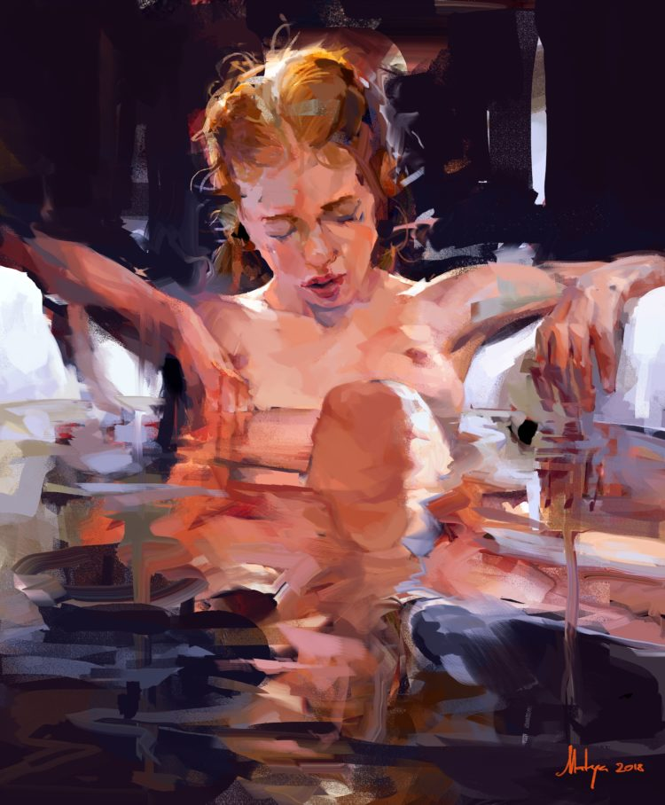 Lolita Bath Study